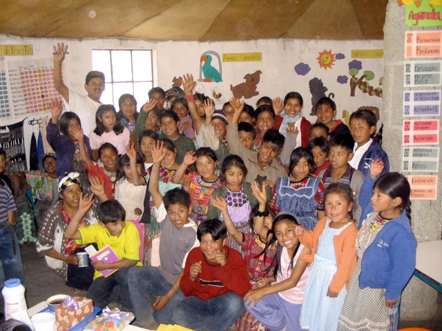 Xela AID-SOSEP join project preschool