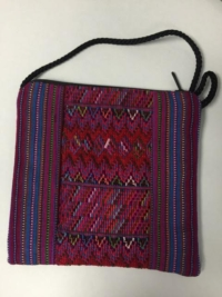 Purse (small sling) – Front: Pink Back: Blue and Green